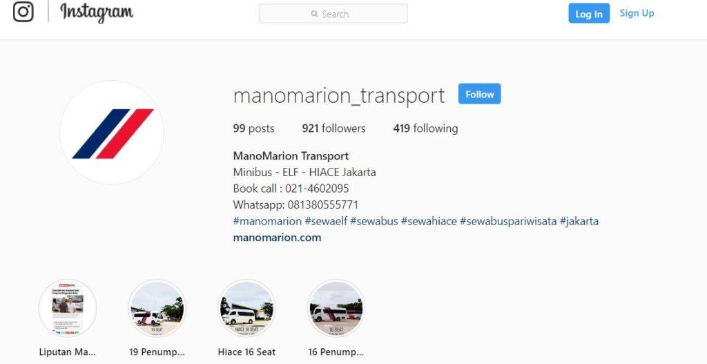 instagram manomarion