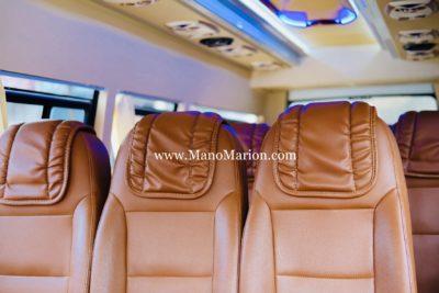 interior elf 19 seat