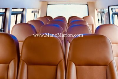 interior isuzu elf 15 seat