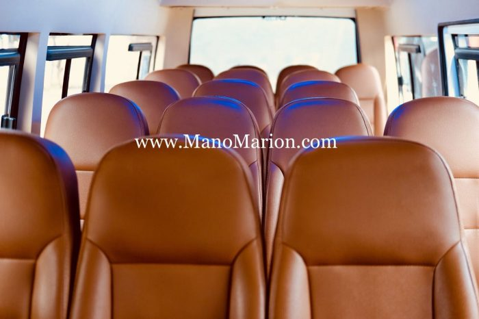 interior isuzu elf 15 seat