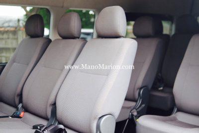interior hiace 15 seat