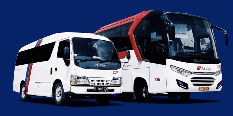 sewa elf jakarta dan bus